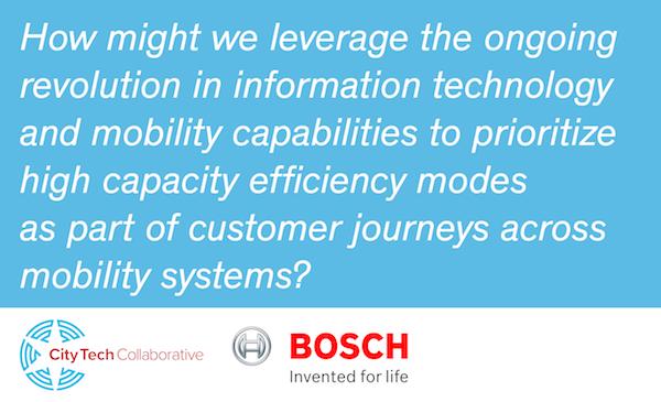 City Tech Collaborative, Robert Bosch LLC, Verizon